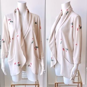 ARITZIA Wilfred Relaxed Floral Blazer